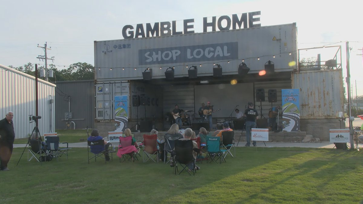 Dozens of people came out for Foodstock at the Shop Local Park in Brookland. The event was held...