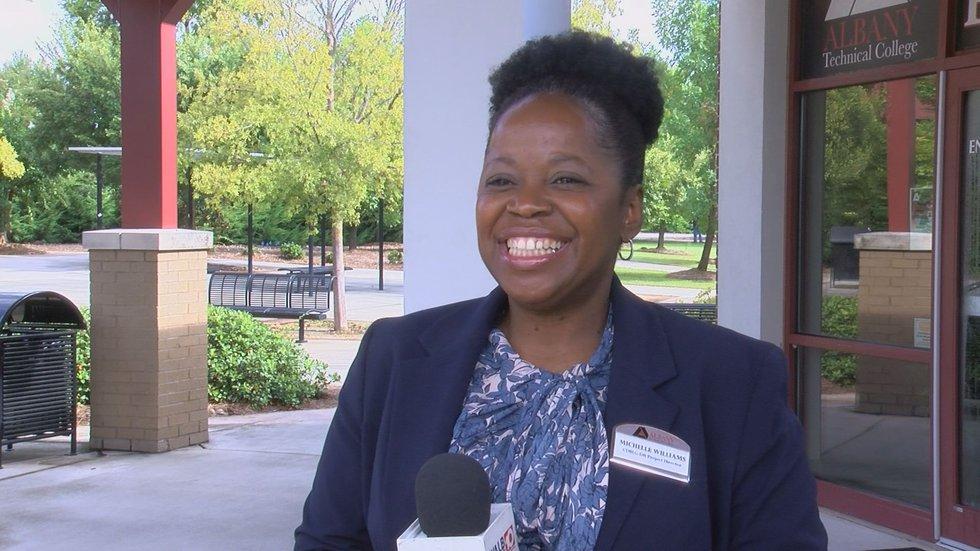 Michelle Williams, the director of the Rebuild Southwest Georgia block grant
