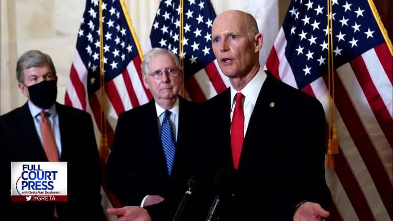 3/7/21 Sen. Rick Scott and Sen. Bob Casey discuss the latest COVID relief bill passed by the...