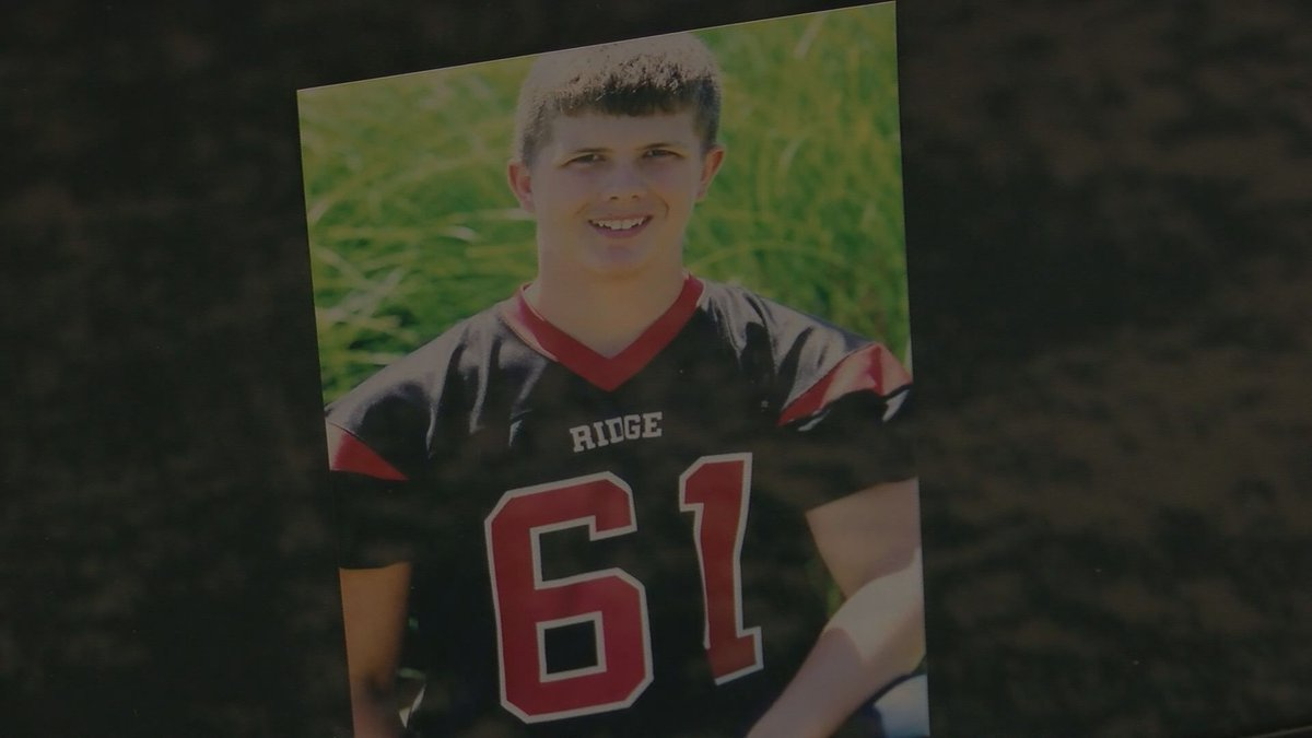 Max Gilpin was 15-years-old when he died after collapsing in the heat during football practice....
