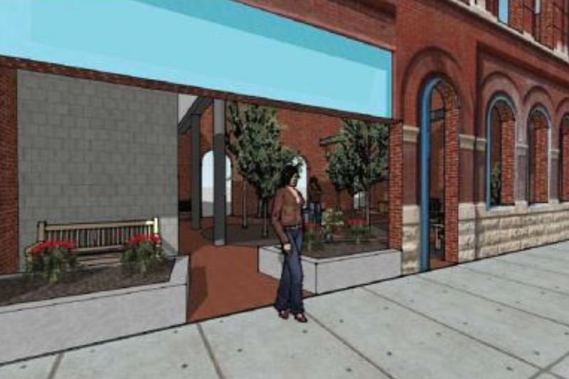 The Sutton Community Development Corporation is working to turn abandoned buildings on Main...
