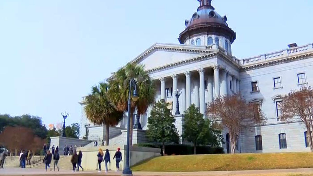 The South Carolina State House in Columbia.