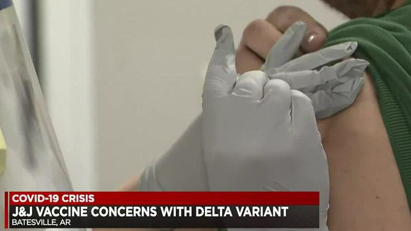 J&J vaccine concerns with delta variant