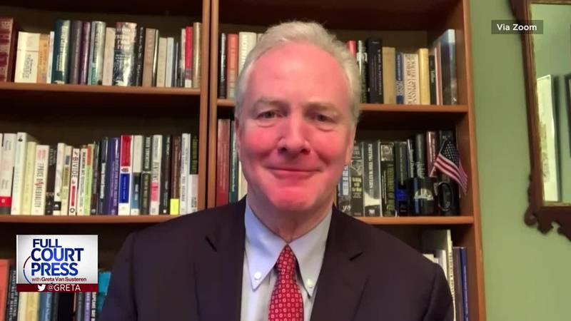 Overtime: Sen. Chris Van Hollen applauds Biden's efforts to reenter the Iran nuclear deal