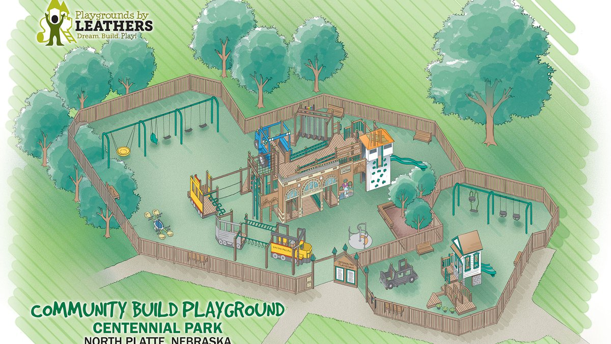 North Platte Community Build Playground nears groundbreaking date, donations for pickets and...