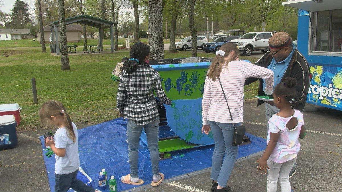 Keep Jonesboro Beautiful had their first Community Clean-Up Day on Saturday. Volunteers say...